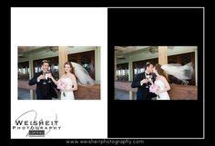 Jupiter Beach Resort and Spa Wedding Album page 21 & 22. Debra Weisheit, Photographer