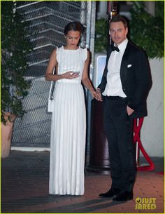 Michael Fassbender & Alicia Vikander Hold Hands at Golden Globes After Party!: Photo #3549978. Michael Fassbender and Alicia Vikander hold hands while they wait for their car after CAA's 2016 Golden Globe Awards After Party held at Sunset Tower Hotel on Sunday…