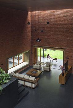 Imagen 11 de 32 de la galería de Casa Ladrillo / A for Architecture. Fotografía de Hemant Patil