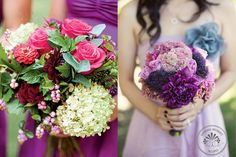 summer bridal bouquets for weddings | ... , photos by Red Gallery Photography from this Napa Winery Wedding