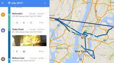Googleマップに「タイムライン」追加。行動履歴を写真付きでタイムライン表示 - Engadget Japanese