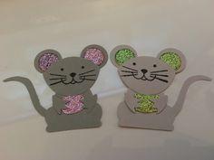 Stampin up - Foxy Friends als Mäuse