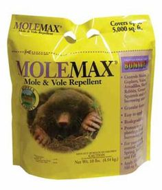 Mole Max mole and vole repellent granules are effective against invading moles and voles. Mole Max also deters skunks, armadillos, gophers, and rabbits. Skunk Smell In House, Moles In Yard, Getting Rid Of Gophers, Mole Holes, Taupe, Kamado Joe, Armadillo, Lawn And Garden, Garden Fun