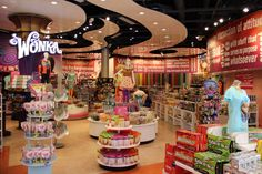 Candy's store