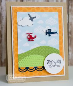 Cards by Kerri: flying by to say hi   Taylored Expressions June Sneak Peeks: Sack It-Crab and Little Bits Aircraft!