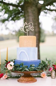 Wedding cake idea; photo: Brianna Wilbur