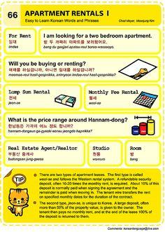 66 Learn Korean Hangul Apartment Rentals 1