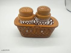 Salt & Pepper Shakers Luxerette Home & Kitchen Utilities Material: Plastic Size: Free Size Description: It Has 1 Set Of Salt & Pepper Boxes Country of Origin: India Sizes Available: Free Size   Catalog Rating: ★4.1 (2281)  Catalog Name: Luxerette Home & Kitchen Utilities Vol 8 CatalogID_265238 C130-SC1641 Code: 021-2007076-