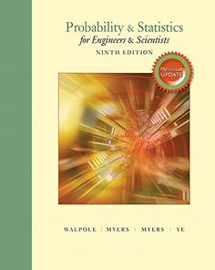Probability Statistics For Engineers Scientists MyStatLab Update With Plus Pearson EText Access Card Package Edition