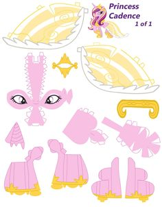 Princess Cadence papercraft part 1 by NoDreams.deviantart.com on @deviantART