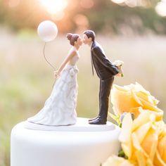 Tortenfigur Hochzeit Brautpaar Ballon Tortenaufsatz Tortendeko Torte Figur Deko