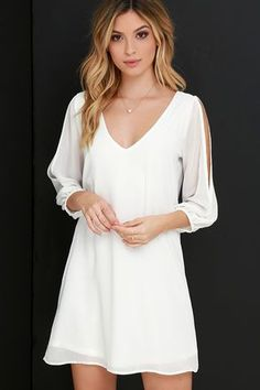 02778a3b54 ivory winter outifts 50+ best outfits  winteroutfits  outfits  outfits2019  White Dresses For