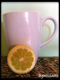 Hot Water & Lemon Cleansing Drink