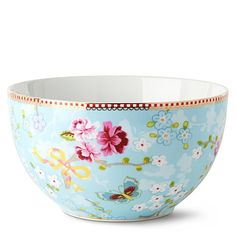 Oh so pretty, yes it is, it's a pretty bowl.