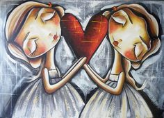 Imagen dúo de ángeles