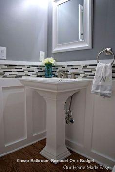 DIY Cheap Bathroom R