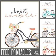 Free Keep It Simple Printables | The 36th Avenue
