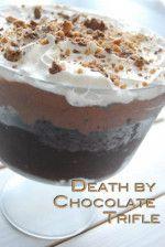 Death by Chocolate Trifle- Dessert Recipe