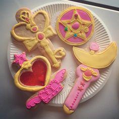 Cookie recipes • anime • food art • sailor moon • cookies • sailor moon cookies — sailor-moon-rei: source