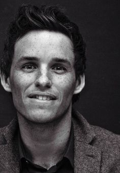 Eddie Redmayne - very expressive eyes (unlike Tom Cruise, who I think has no expression what-so-ever)