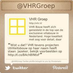 Wist u dat? VHR tevens projecten Utiliteitsbouw op haar naam heeft staan. Jazeker, bekijk voorbeelden op http://www.vhr.nl/utiliteit.php