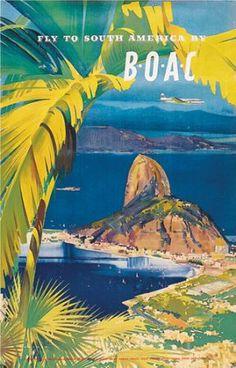 BOAC ~ Rio de Janeiro