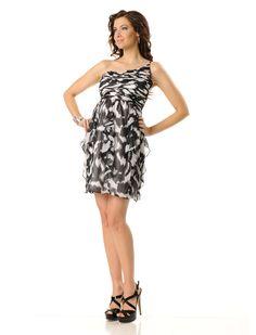 Sleeveless Gathered Shoulder Maternity Dress