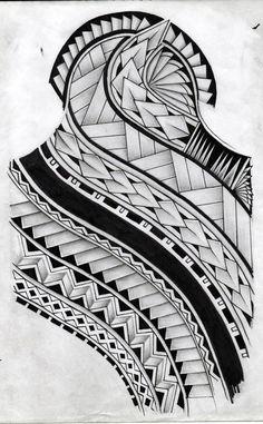 samoan tattoo design by koxnas - 30 Pictures of Samoan Tattoos <3 <3