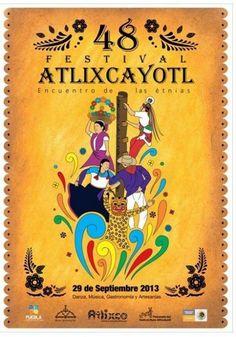 La danza mexicana es un arte influenciado por otras culturas. El próximo 29 de septiembre se realizara el Festival 48 del Huey Atlixcayotl, fiesta profana que se realiza con el propósito de reunir en un espacio las danzas tradicionales de todo el Estado de Puebla.  Más información en: http://suenamexico.com/event/festival-atlixcayotl-encuentro-de-las-etnias-en-puebla/