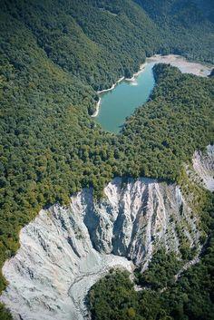 Lake Biograd (Biogradsko jezero) in the National Park Biogradska Gora - Montenegro