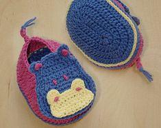 Crochet del bambino Puppy Booties modello Calze di meinuxing