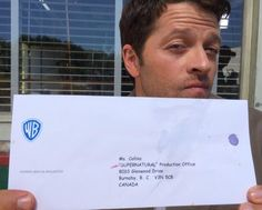 Misha Collins address