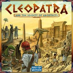 Build Cleopatra's palace in 3D but watch out for the crocs! Plays up to 5 in 60 mins