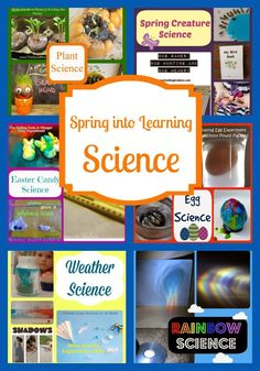 Life with Moore Babies: Spring into Learning Science