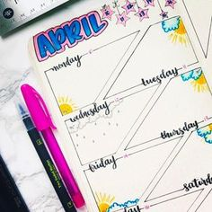 """I'm loving the unique #weeklyspread I'm seeing everywhere like this one from @theblackerthebujo.…"""