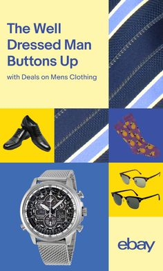 Help him look his best from head to toe, with Men's Clothing deals on everything from accessories to suits.