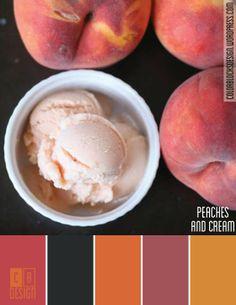 Peaches and Cream | Color Blocks Design