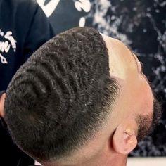 Wave Unit Ocean Wave Hair Unit last 3 to 4 months. Longer with proper care.Ocean Wave Hair Unit last 3 to 4 months. Longer with proper care. Barba Van Dyke, Corte Fade, 360 Waves Hair, Black Hair Video, Updo, Hair Unit, Medium Curls, Haircut Designs, Hair System