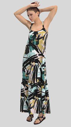 #CLO3D, #Virtualfashion, #DAZ3D, #Zeroinventoryfashion, #manufactureondemand, #madeondemand Chiffon Fabric, Chiffon Dress, Virtual Fashion, Creative Design, Cami, 3d Printing, Wrap Dress, Aqua, Color