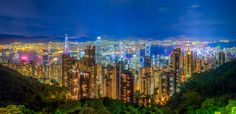 Hong Kong from Victoria Peak. This photo was a hdr made from 3 exposures merged in photomatix and post processed in Lightroom and photoshop. I would some honest feedback on this image, any constructive criticism would be more than welcome. If you dont like it please say so in the comments and let me know why. Thanks!