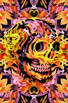 Skull V Art Print