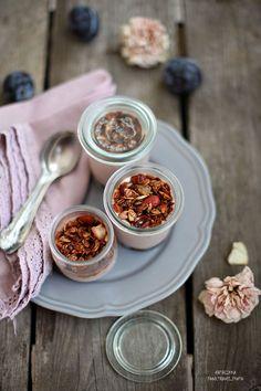 Домашний йогурт с фруктовым наполнителем и хрустящей гранолой - Good things