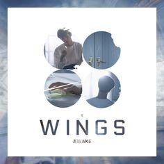 Bts wings album song-By member Jin-awake solo song Seokjin, Hoseok, Namjoon, Album Songs, Album Bts, Music Covers, Album Covers, Bts Wings Album Cover, Foto Bts