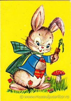 Easter card, 1970 (source muzeuljucariilor.ro)