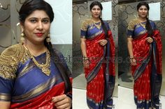Swetha Reddy Pochampally Saree