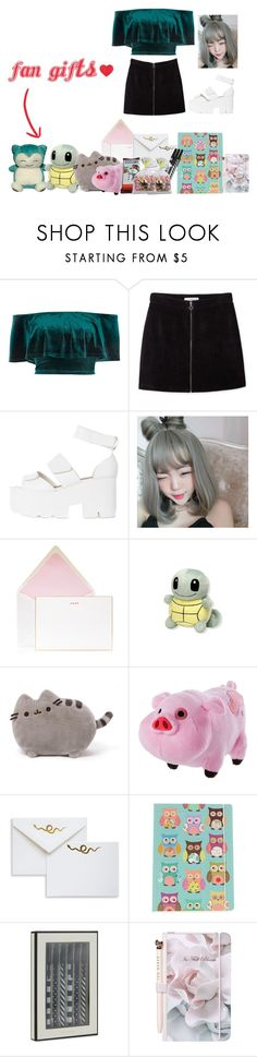 """Euphoria's Very FIRST Fanmeeting!"" by fangirlkaly8102 ❤ liked on Polyvore featuring River Island, MANGO, INC International Concepts, Bell'Invito, Pusheen, Disney, Brika, Go Stationery, Hershey's and Kate Spade"