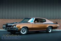 Custom Classics is your Restoration Specialist! Let our professional staff service your classic car today! Best Muscle Cars, American Muscle Cars, Gta, Buick Gsx, 1965 Buick Riviera, Donk Cars, 72 Chevy Truck, Buick Cars, Buick Skylark