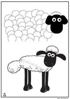 shaun sheep free printable coloring pages 08