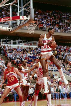 Ralph Sampson.    For all the latest Houston Rockets news and updates, visit www.rockets.com.