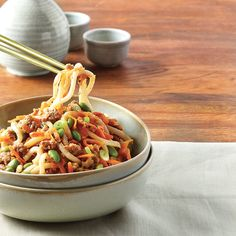 Asian Recipes, Ethnic Recipes, Happy Foods, Mets, Japchae, Main Dishes, Pizza, Tasty, Risotto